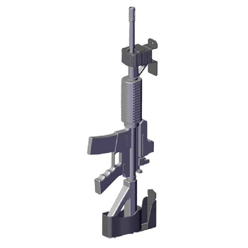 Wall Hanger Gun Rack By Jotto Gear