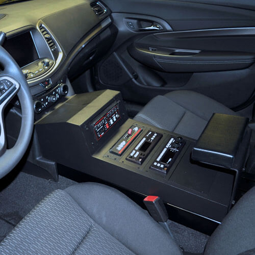 Chevy Caprice 9c1 Police Equipment Console Contour 2014