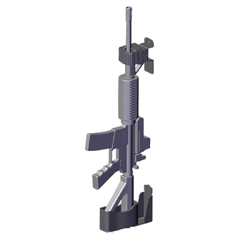 Wall Hanger Gun Rack By Jotto Gear
