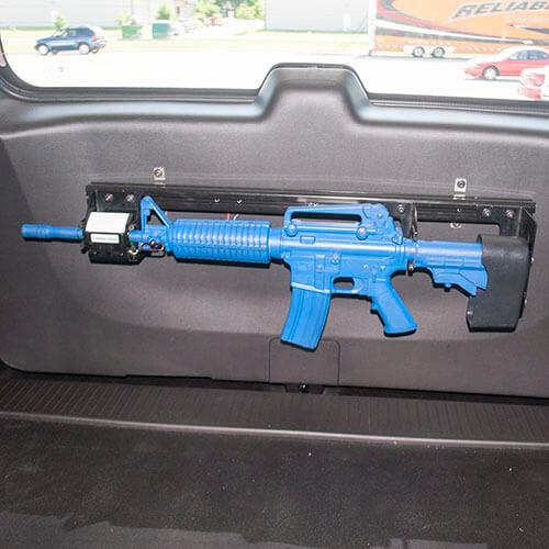 Gun Rack - Single Weapon, AR-15 BLM, Rear Hatch Mounted ...